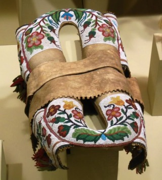 Plains Indians saddle