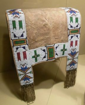 Plains Indians quillwork